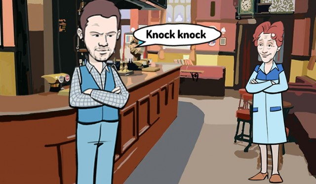 Story of the week - knock knock joke